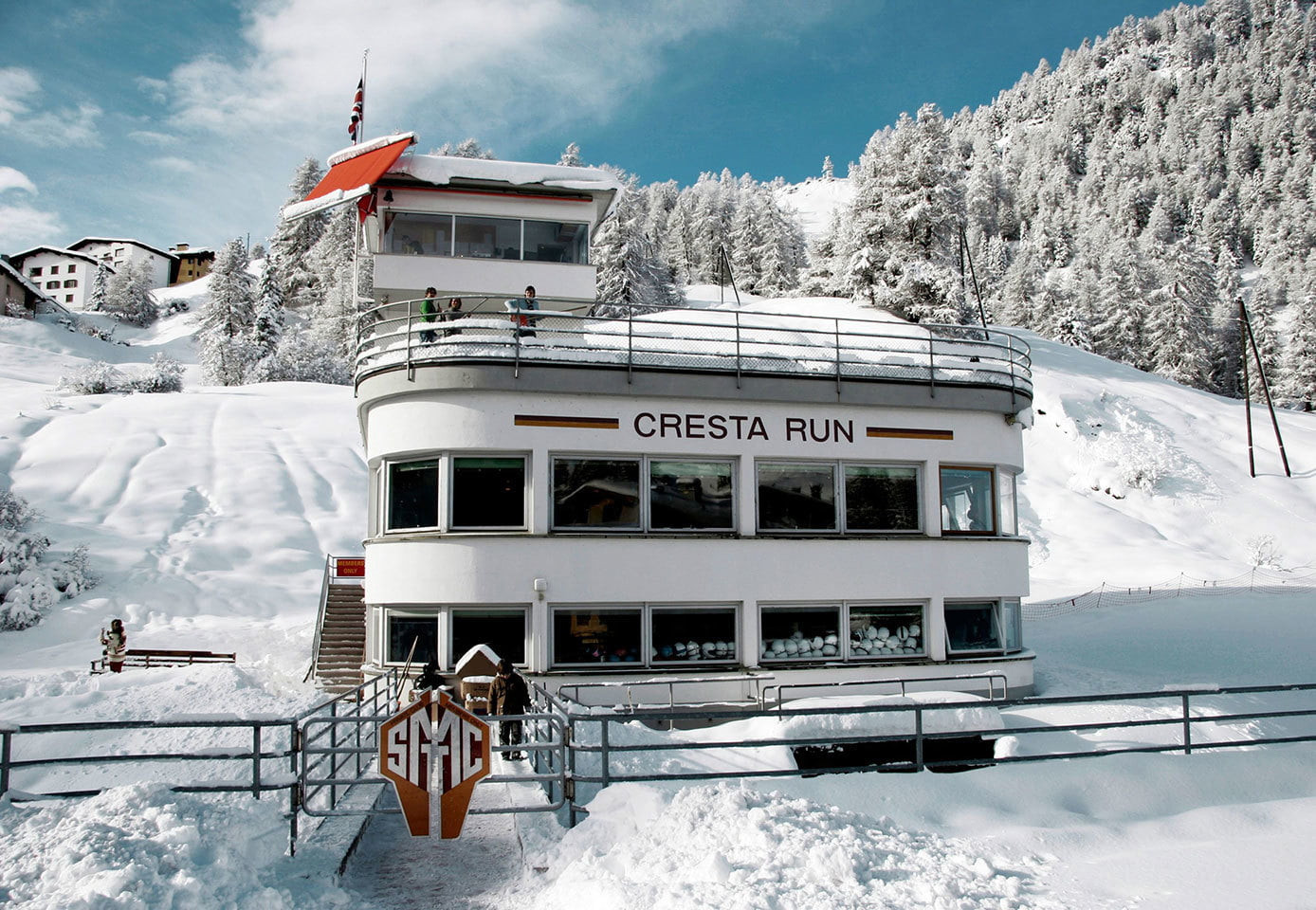 St Moritz, home of the famous Cresta Run, will be one of the most memorable venues being used for the 2020 Winter Youth Olympic Games ©St Moritz Tobogganing Club