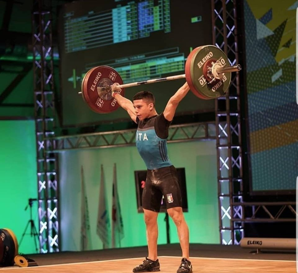 Hat-trick of golds for Massidda at IWF Youth World Championships