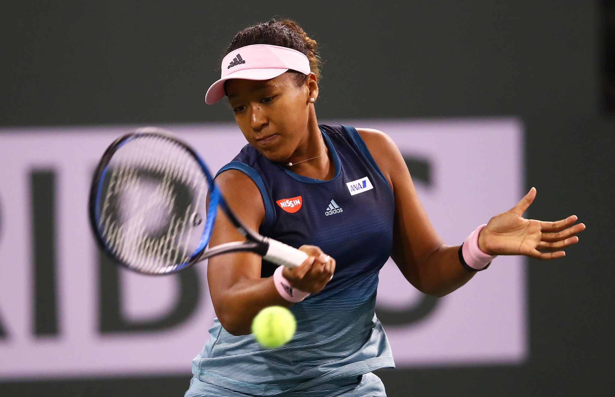 Women's world number one Naomi Osaka also booked her place in the third round ©Getty Images
