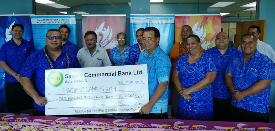 Pacific Games signs sponsorship deal with Accident Compensation Corporation