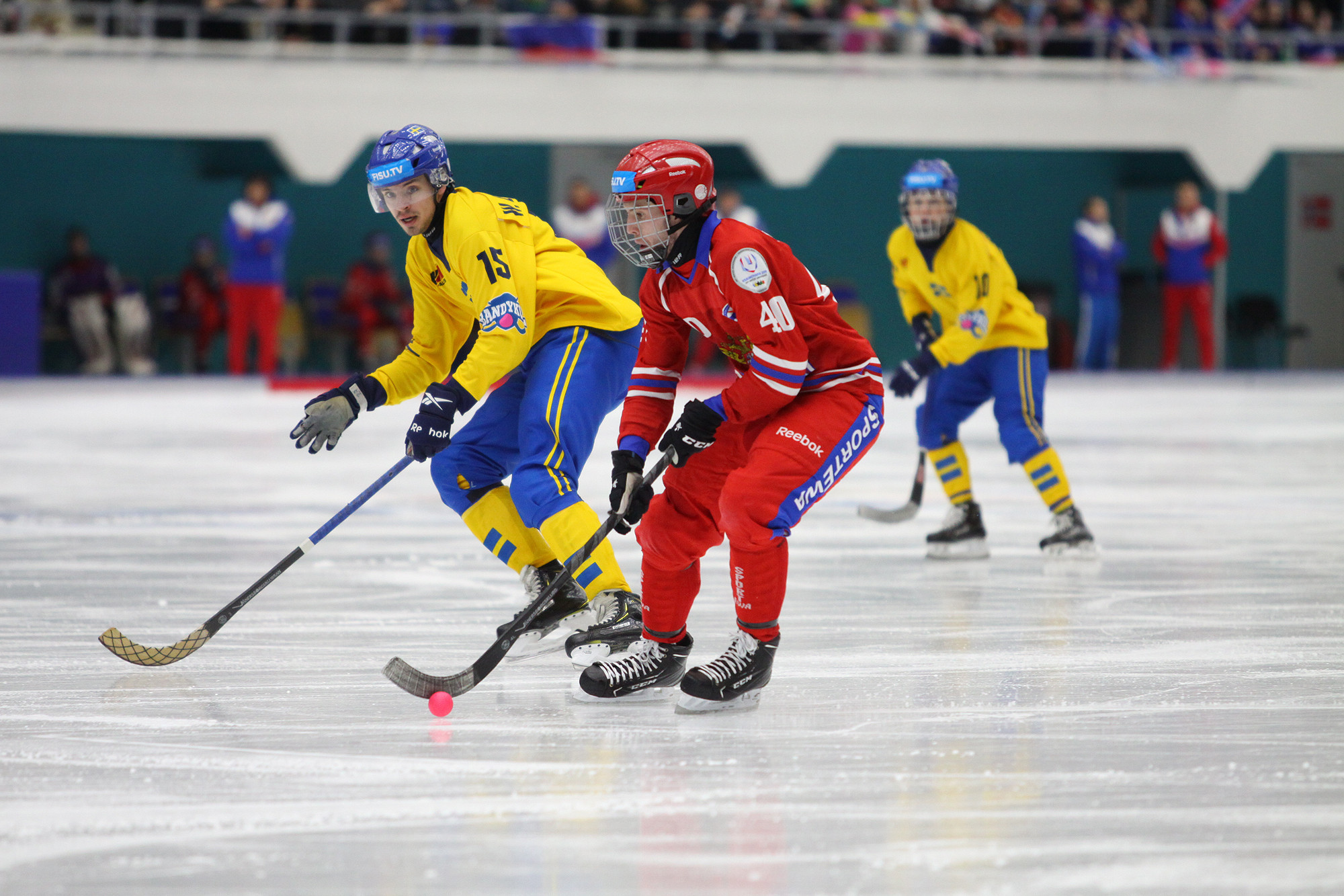 Hosts Russia take gold in the men's bandy final at Krasnoyarsk 2019