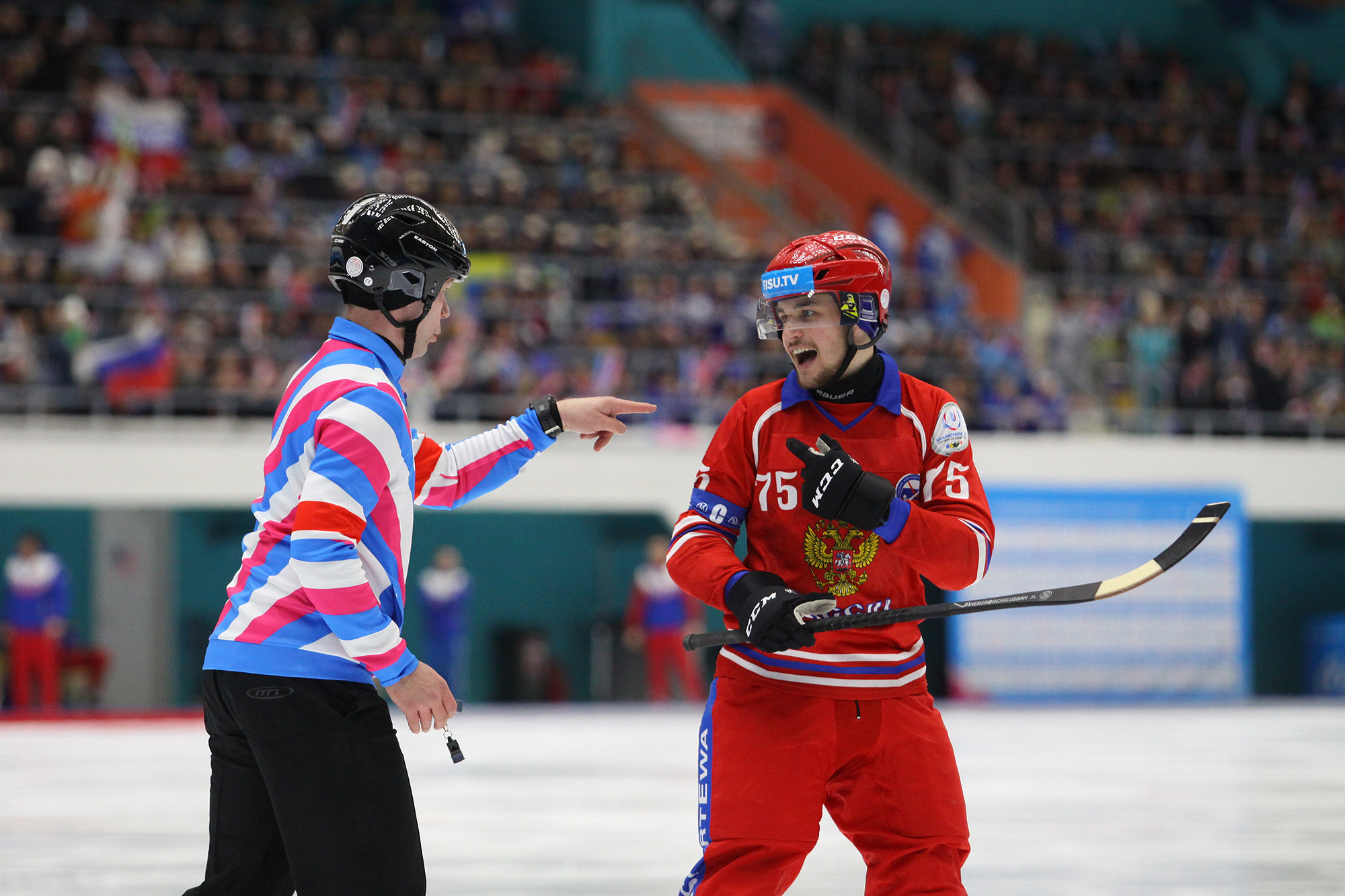 Russia had lost to Sweden in the women's final, with the men's team looking to ensure they were not subjected to the same fate ©Krasnoyarsk 2019