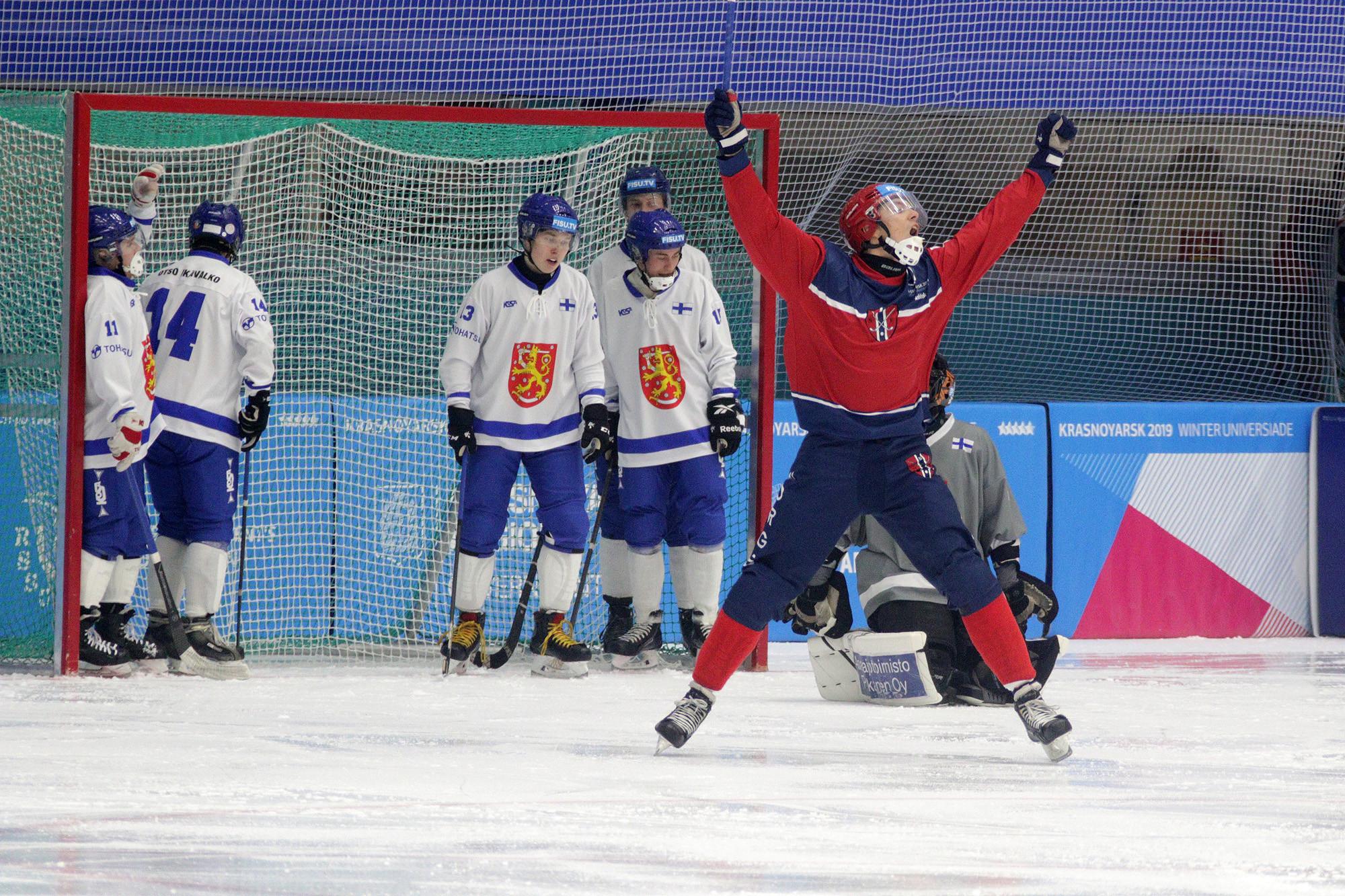 Norway took the bandy bronze medal following their victory against Finland ©Krasnoyarsk 2019