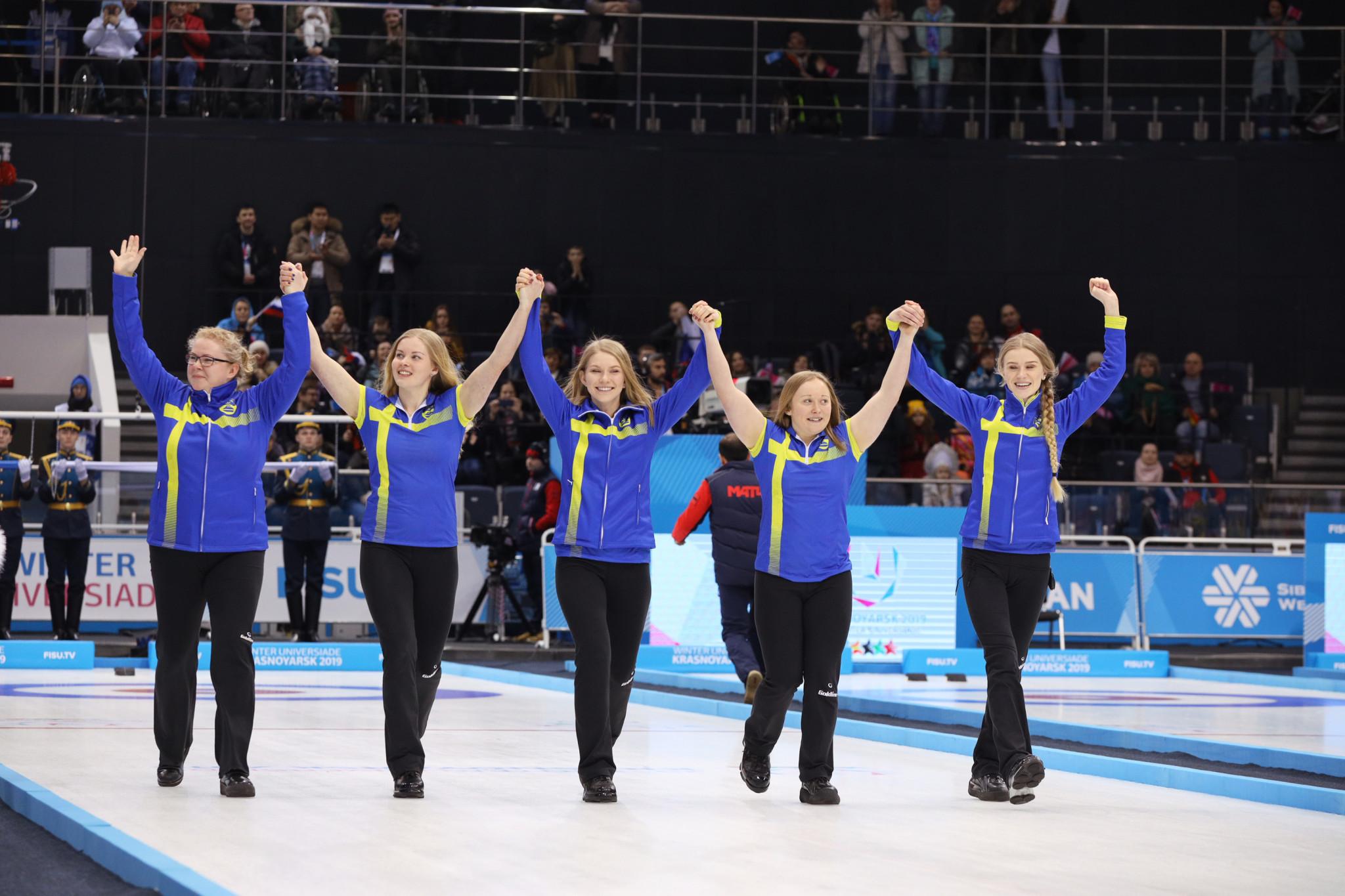 Sweden beat South Korea in the women's curling final to take gold ©Krasnoyarsk 2019