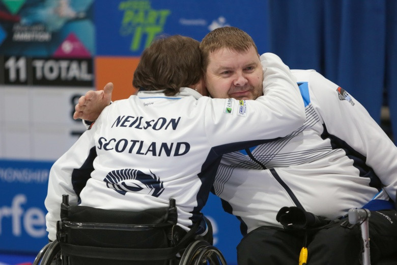 The gold medal ambitions of hosts Scotland were ended at the last in Stirling as Paralympic champions China beat them 5-2 in the final of the World Wheelchair Curling Championships ©WCF