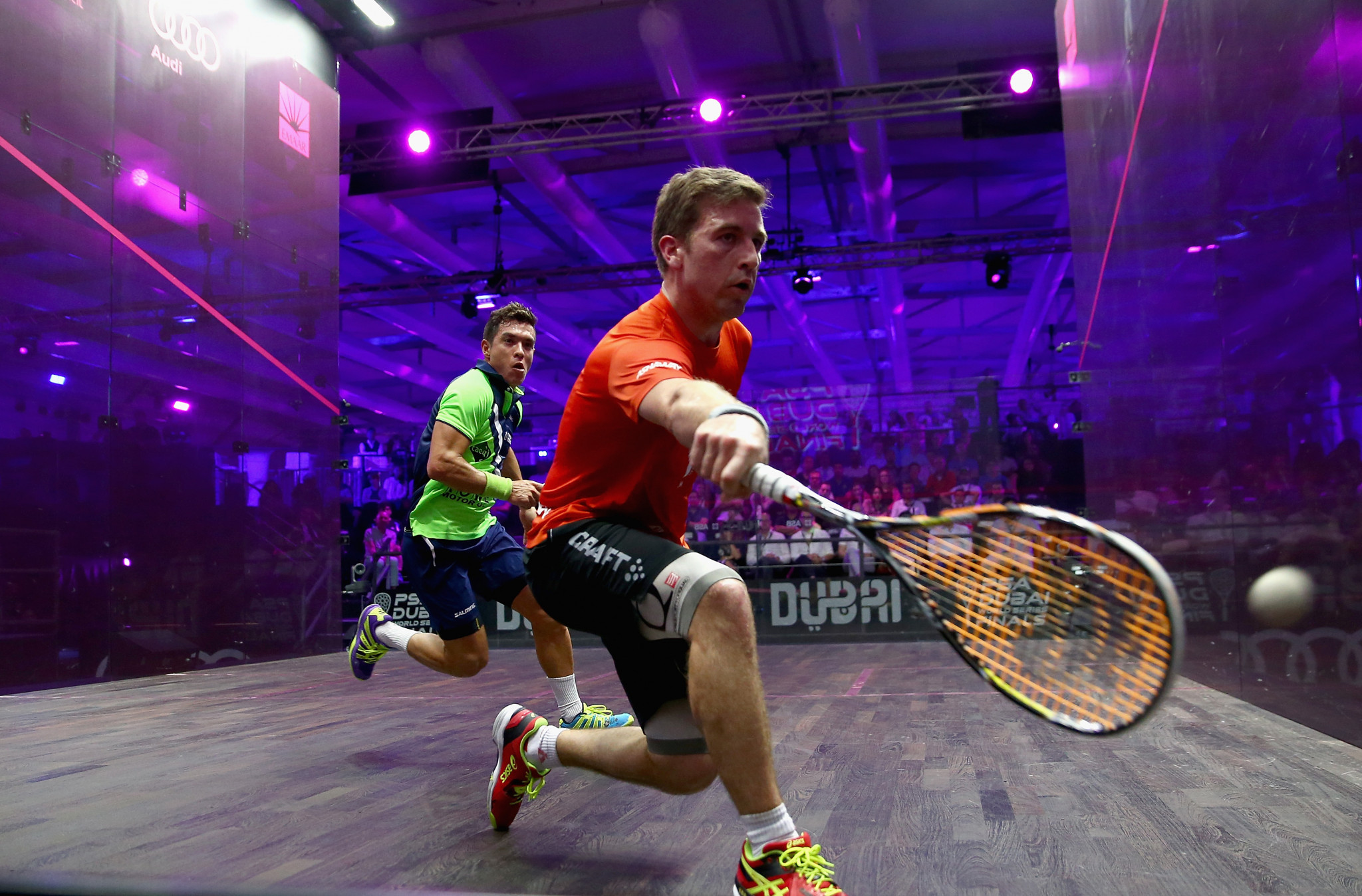 Mathieu Castagnet eased past England's Sam Todd and will now play second seed Simon Rösner from Germany ©Getty Images