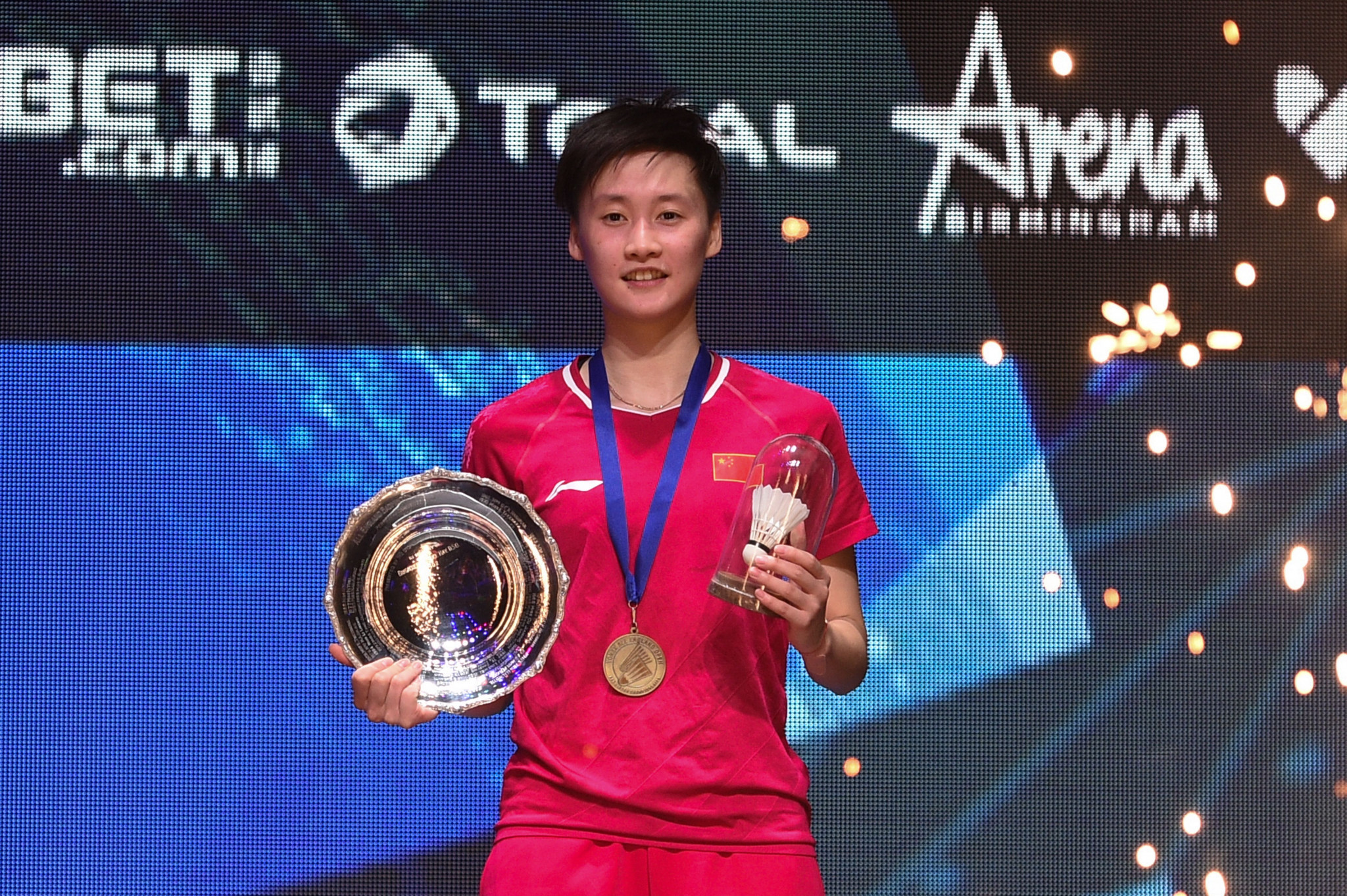 Chen Yufei was crowned as the women's champion  ©Getty Images