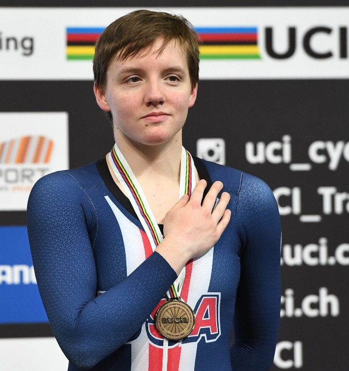 USA Cycling pay tribute after triple world champion Catlin dies aged 23