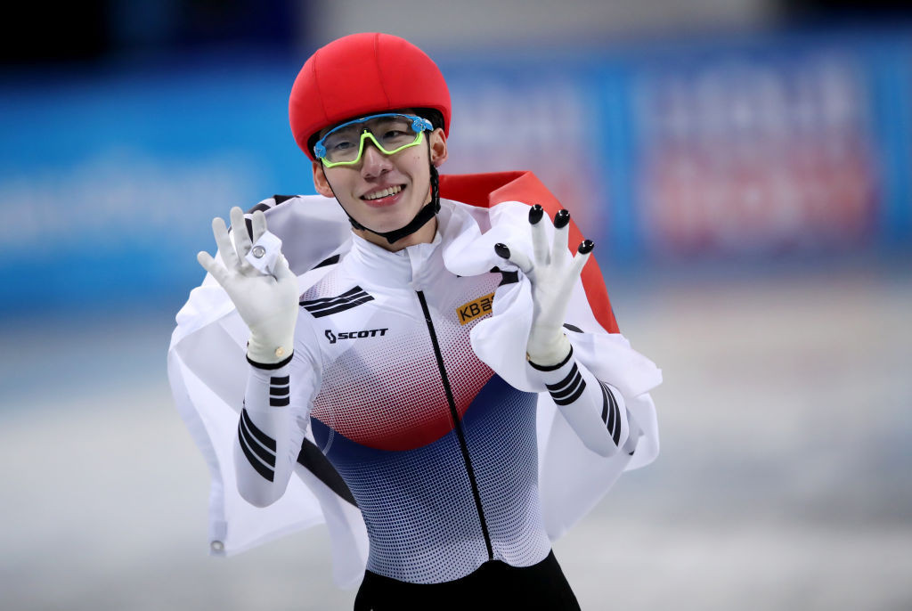 South Korea's Lim Hyo-jun leaves Sofia with five gold medals ©ISU
