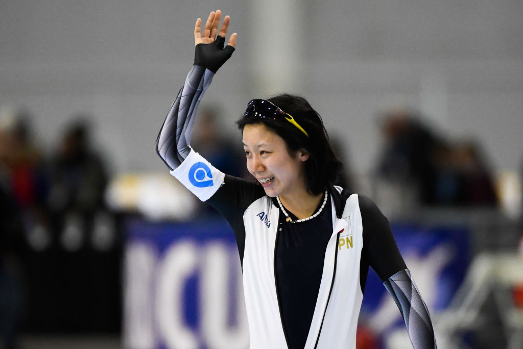 Takagi breaks magic barrier in ISU Speed Skating World Cup Final