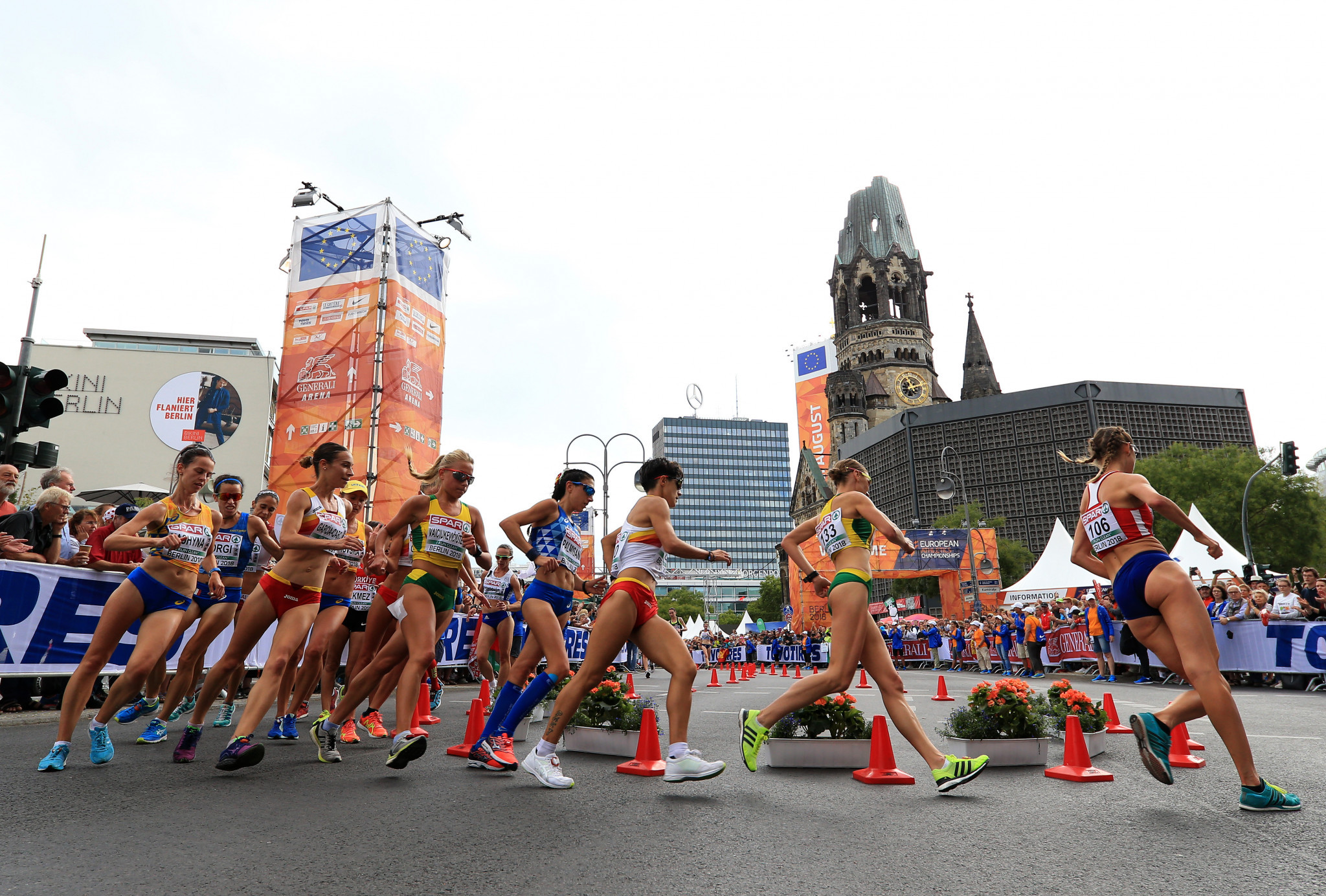 A wish to have greater equality between men and women race walkers has been cited as being among the main reasons by the IAAF for introducing new distances ©Getty Images