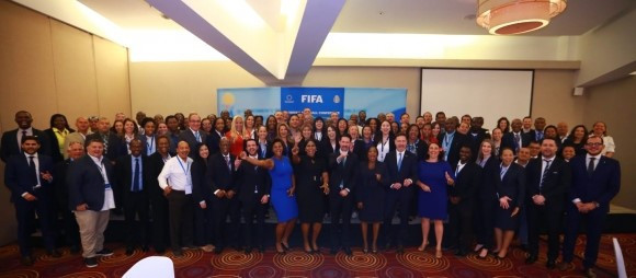 The Confederation of North, Central American and Caribbean Association Football also held a meeting over three days discussing how to grow the women's game ©FIFA