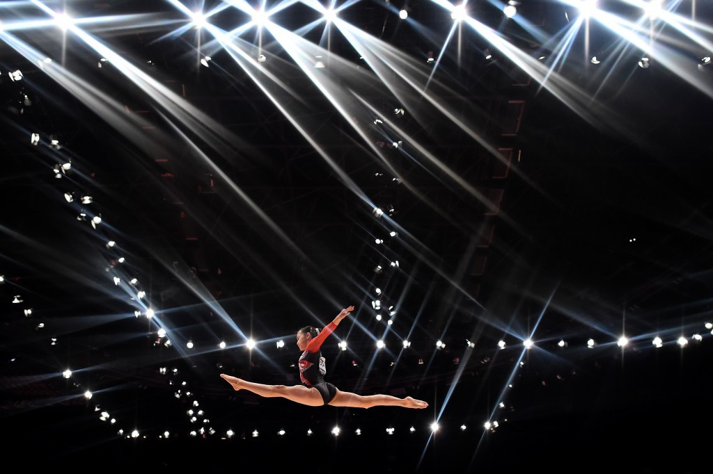 In Pictures: 2015 Artistic Gymnastics World Championships day one of competition