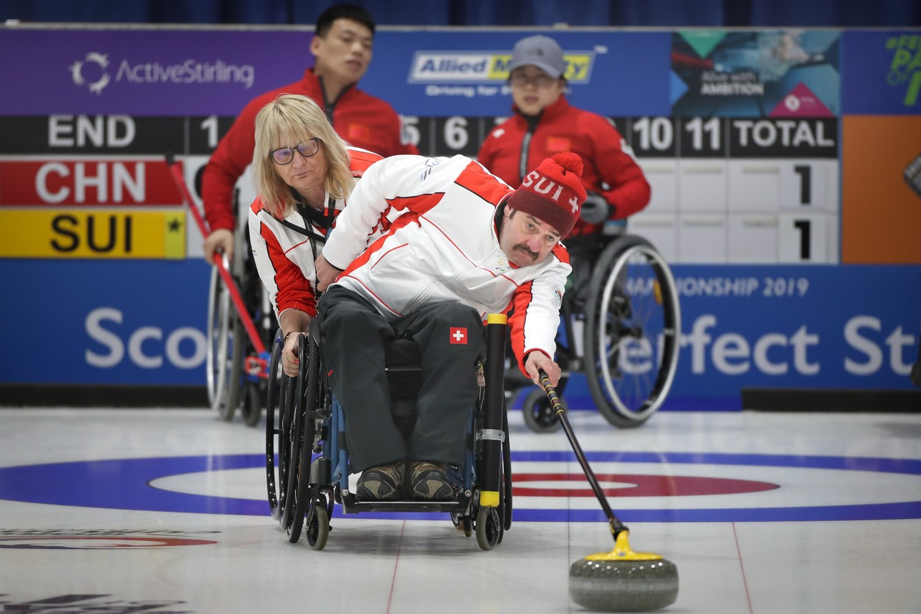 Switzerland to host 2020 World Wheelchair Curling Championship