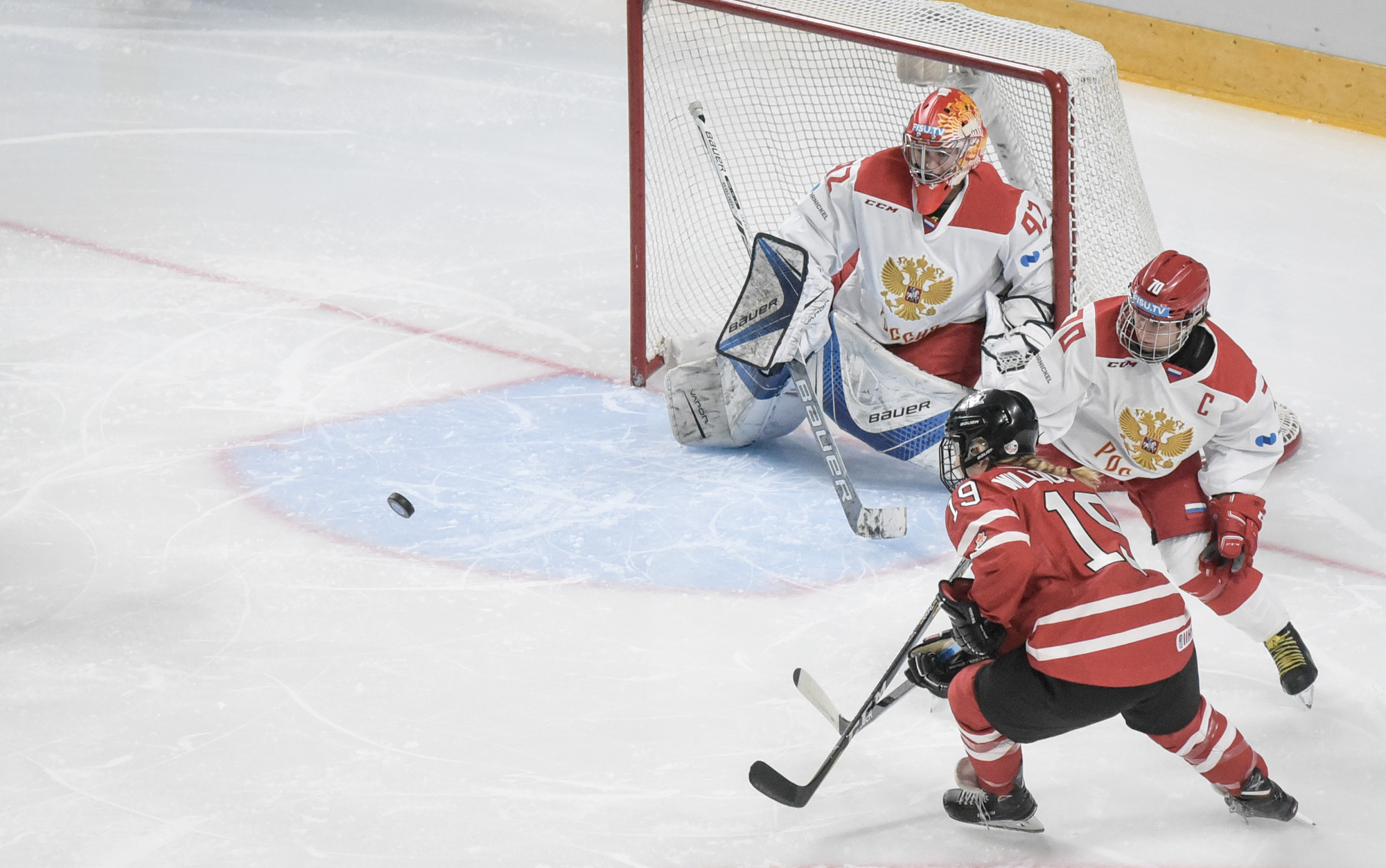 Russia delight home crowd with ice hockey gold at Krasnoyarsk 2019
