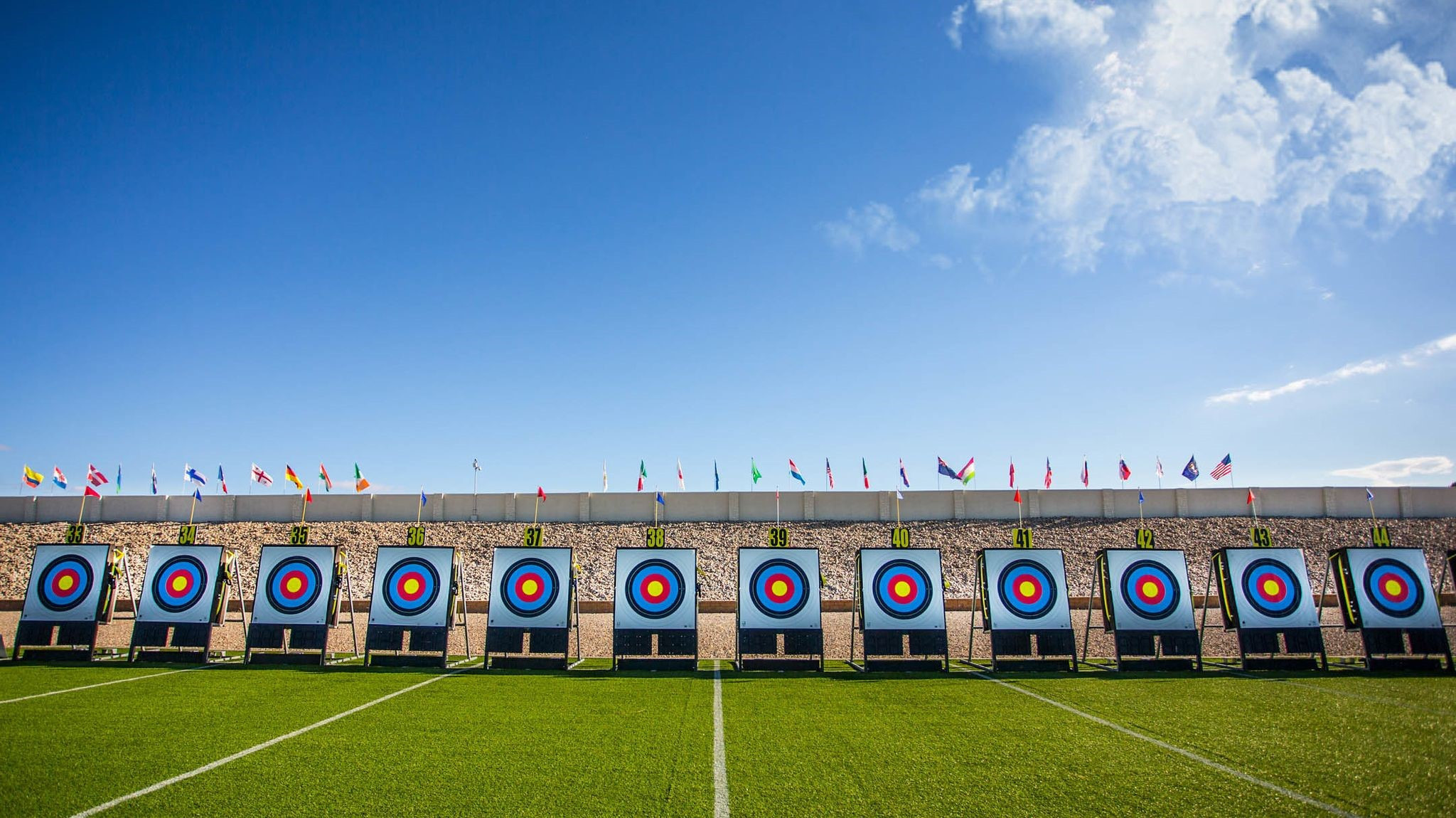 World Archery extend partnership deal with target maker Rinehart