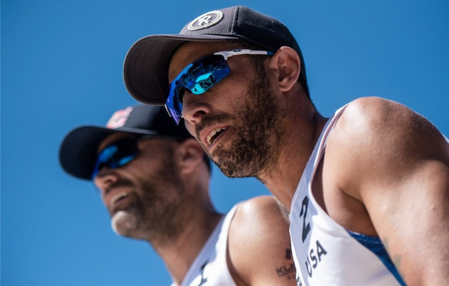 Phil Dalhausser and Nick Lucena of the United States are top-seeded for the FIVB Beach Volleyball World Tour event that starts in Doha tomorrow ©FIVB