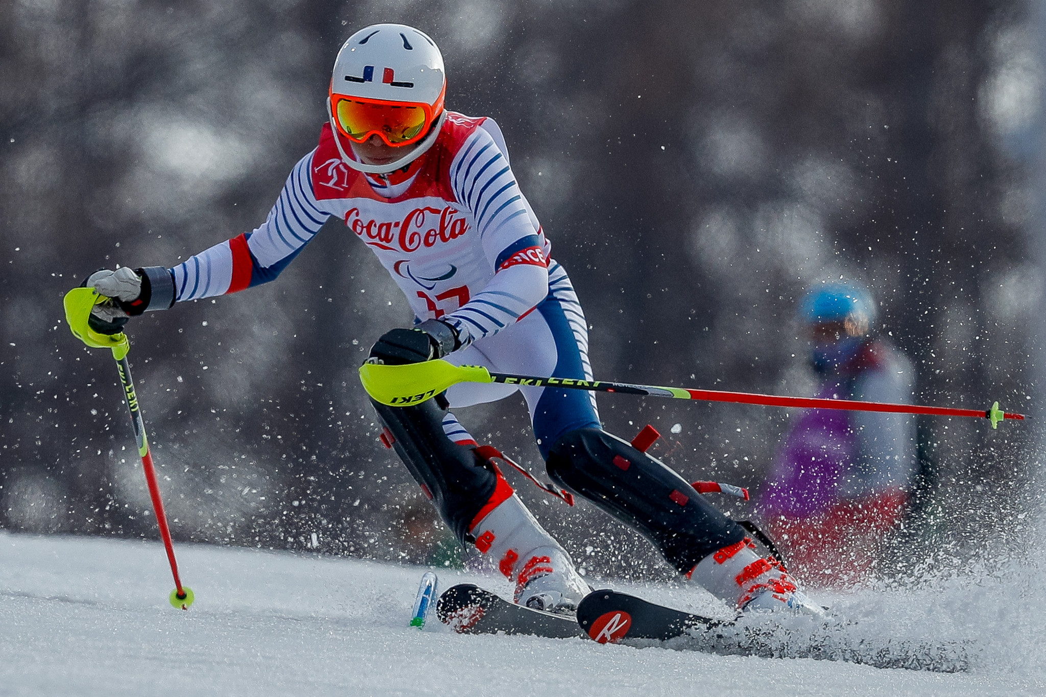 Bauchet off to winning start at World Para Alpine Skiing World Cup in La Molina