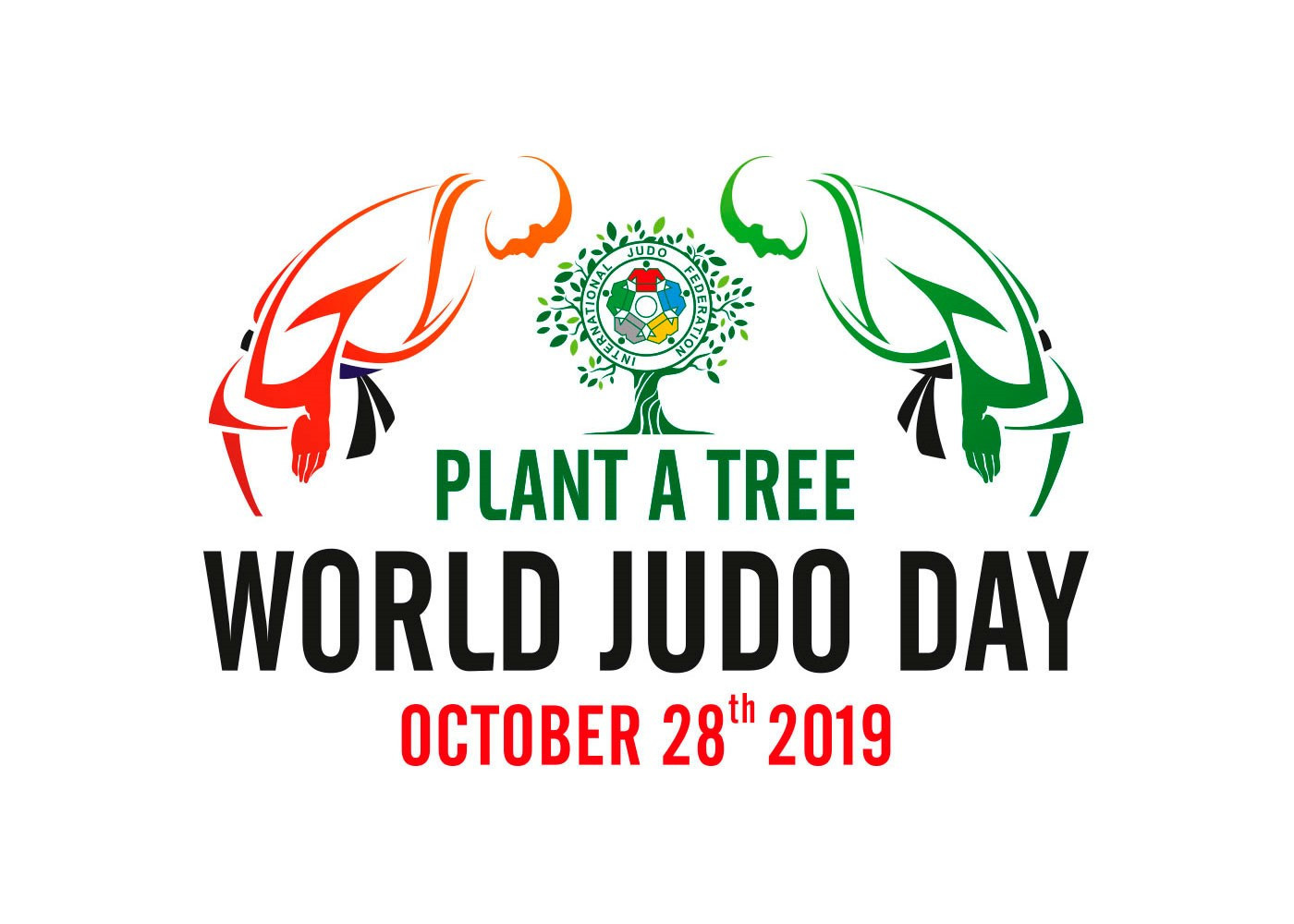 IJF encourage tree-planting to mark 2019 World Judo Day