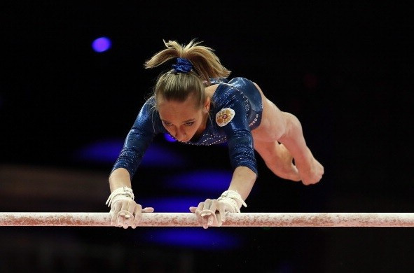 Russia top women's team qualification at expense of hosts on opening day of Artistic Gymnastics World Championships