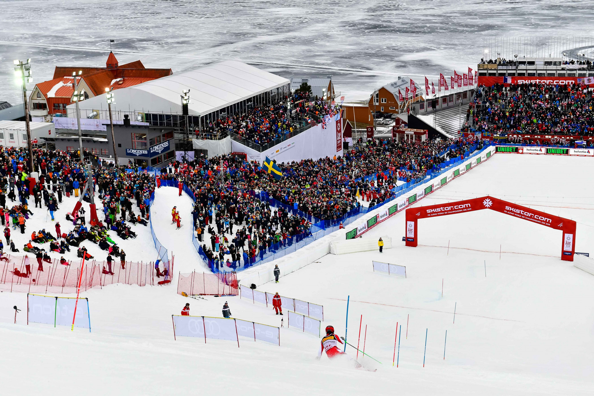 Åre hosted a successful FIS Alpine World Ski Championships ©Getty images