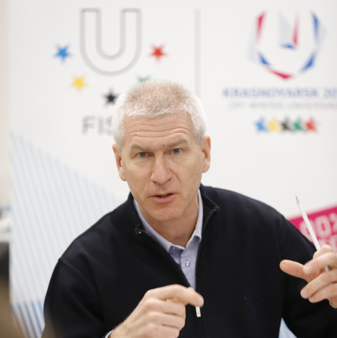 FISU President highlights legacy of Winter Universiade as Krasnoyarsk bids for World Wrestling Championships