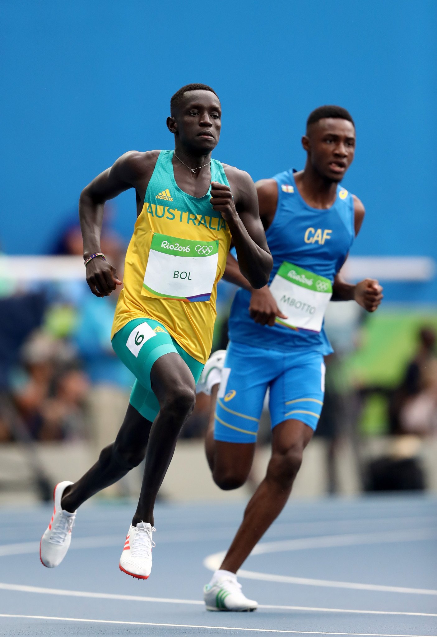 The Central African Republic sent a team of six to the Rio 2016 Olympics ©Getty Images