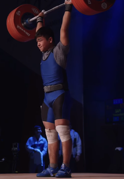 Kazakh shines as action continues at IWF Youth World Championships