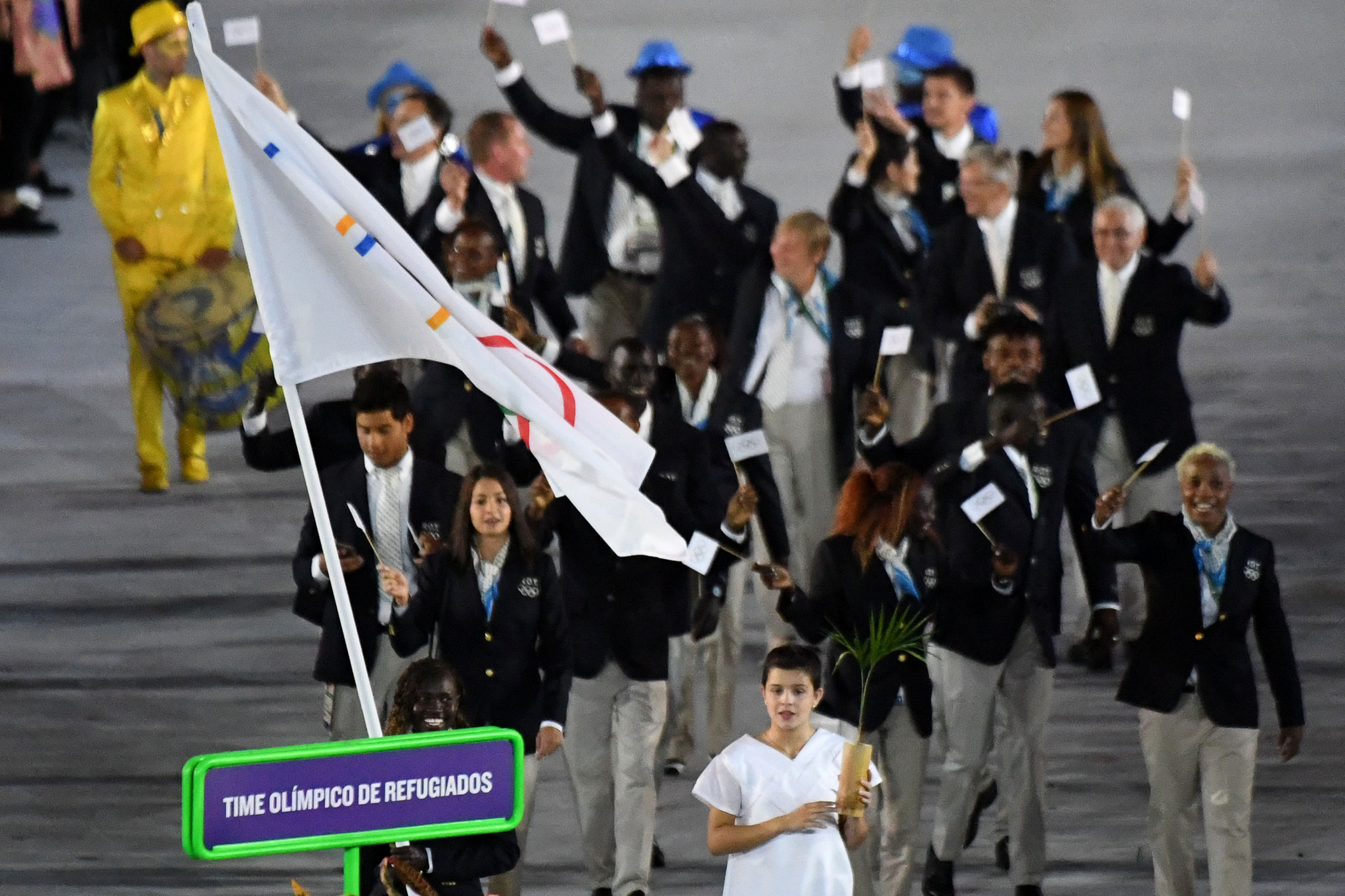 Rio 2016 saw the first refugees team at the Olympic Games ©Getty Images