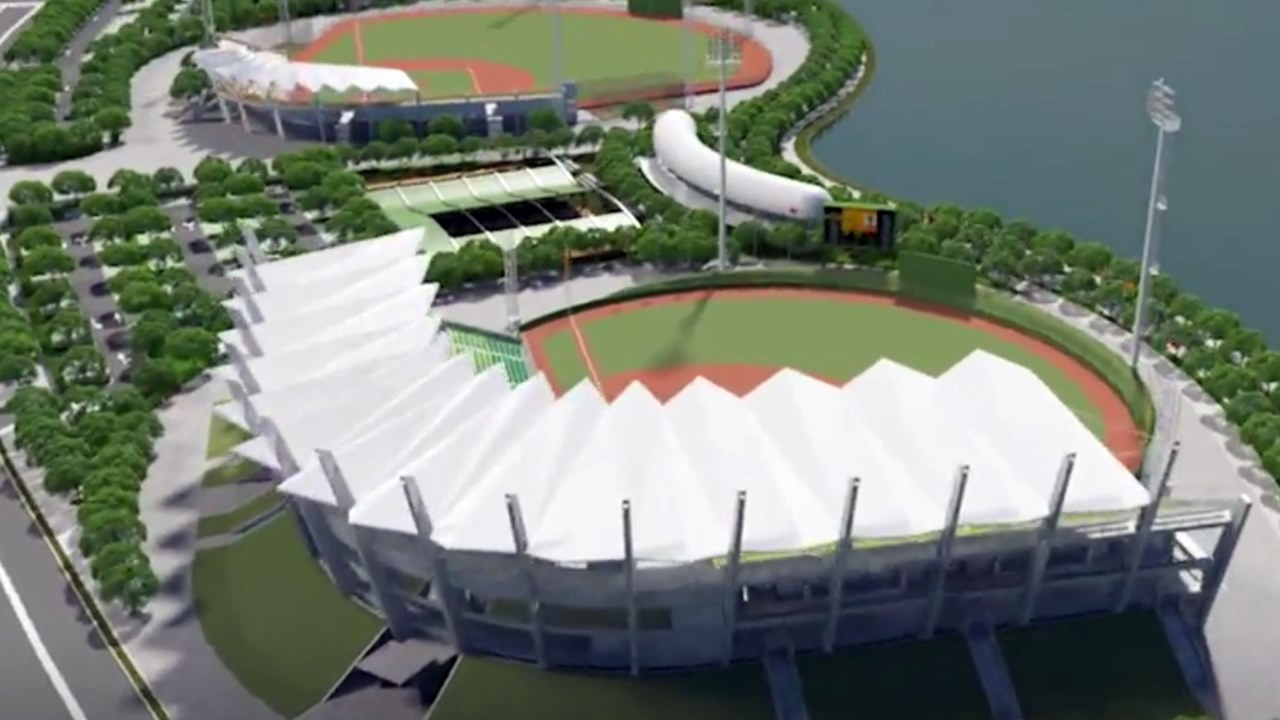 The Under-12 Baseball World Cup will move into its new home, the $130 million Tainan Asia Pacific Stadiums, this July ©WBSC