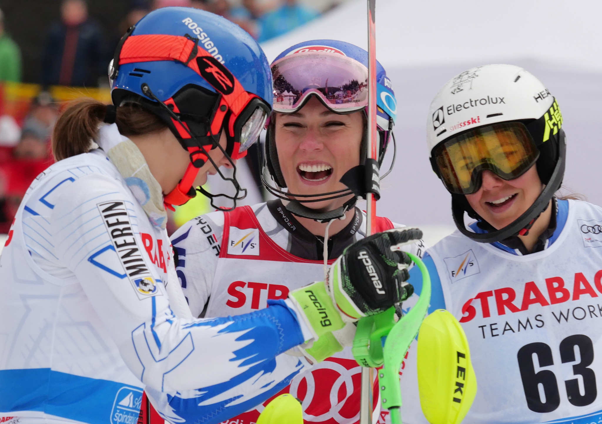 Shiffrin on course to finish Alpine Skiing World Cup season with four crystal globes in Andorra