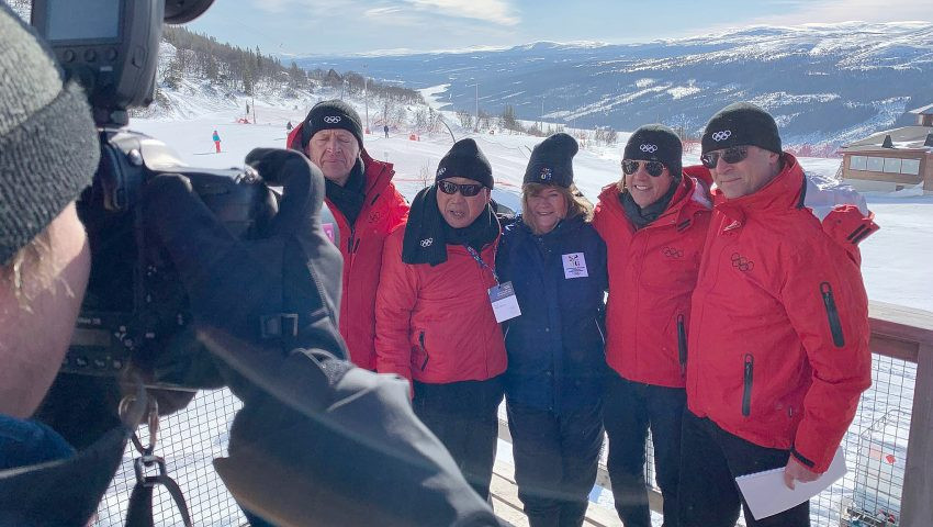 For Gunilla Lindberg, the Swede who led the IOC Evaluation and Coordination Commissions for Pyeongchang 2018, the boot is on the other foot this time as she is part of the Stockholm Åre 2026 team ©Stockholm Åre 2026