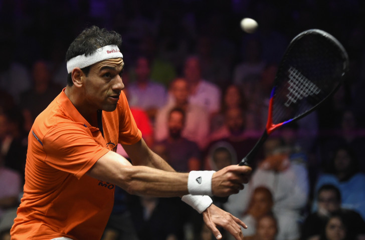 Egypt's top seed and former world champion Mohamed Elshorbagy will be back in action tomorrow in the quarter-finals of the PSA Canary Wharf Classic ©Getty Images