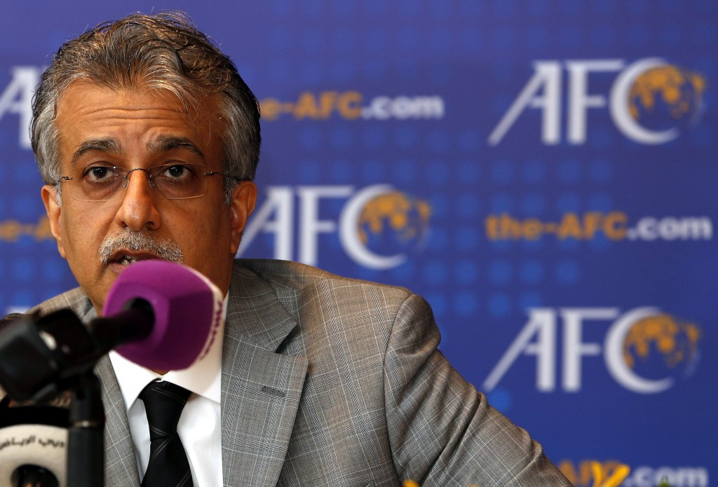 Sheikh Salman's potential bid for FIFA President hits early stumbling block as ITUC express concern over candidacy
