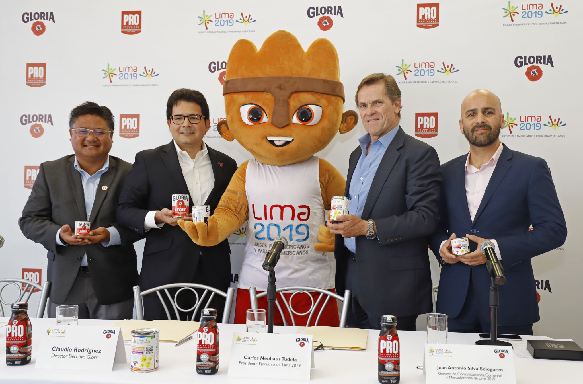 Lima 2019 pen sponsorship deal with dairy company Gloria