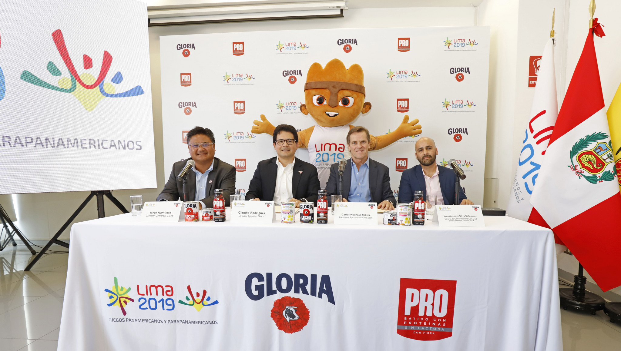 Gloria becomes the official milk of the Pan American Games ©Lima 2019