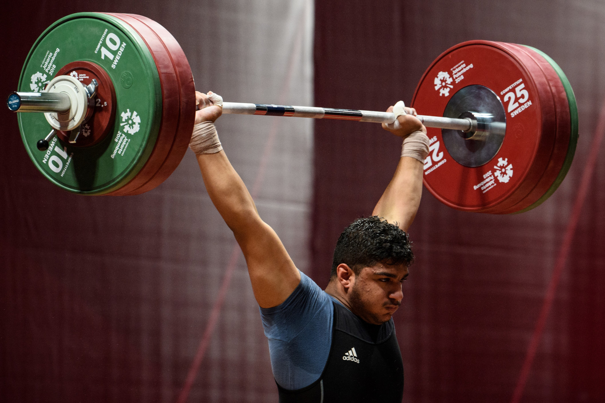 Ali Yousef Alothman won the men's overall title at 89kg ©Getty Images