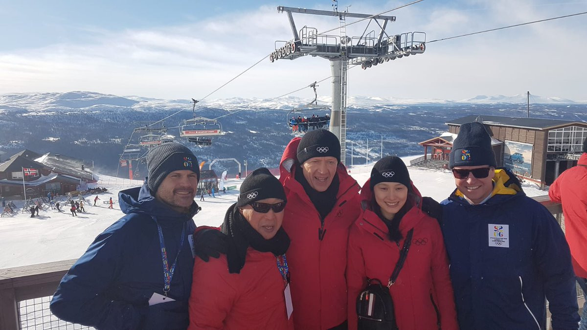 Revelations Pär Nuder had resigned as chairman of SkiStar, the operator of the proposed ski event if Stockholm Åre 2026 are awarded the Olympics, came only a day after the IOC Evaluation Commission had visited the resort ©IOC