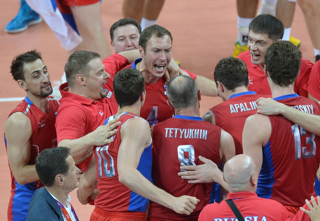 Russia and France to do battle at men's European Olympic Volleyball Qualification Tournament