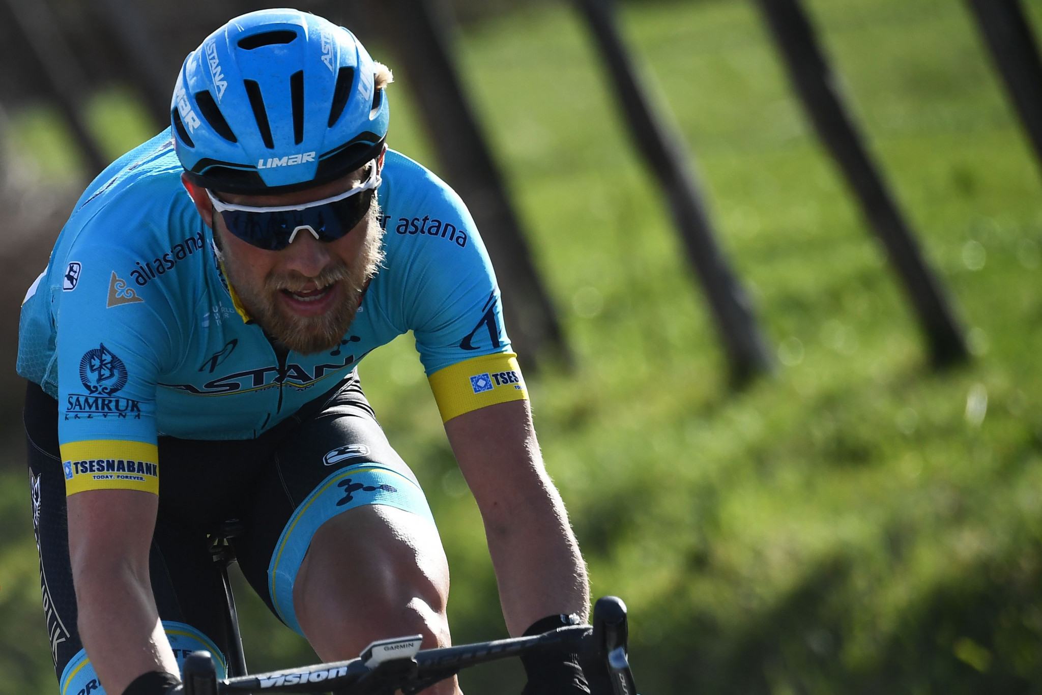 Denmark's Magnus Cort earned victory on the fourth stage of the Paris-Nice 2019 race today ©Getty Images