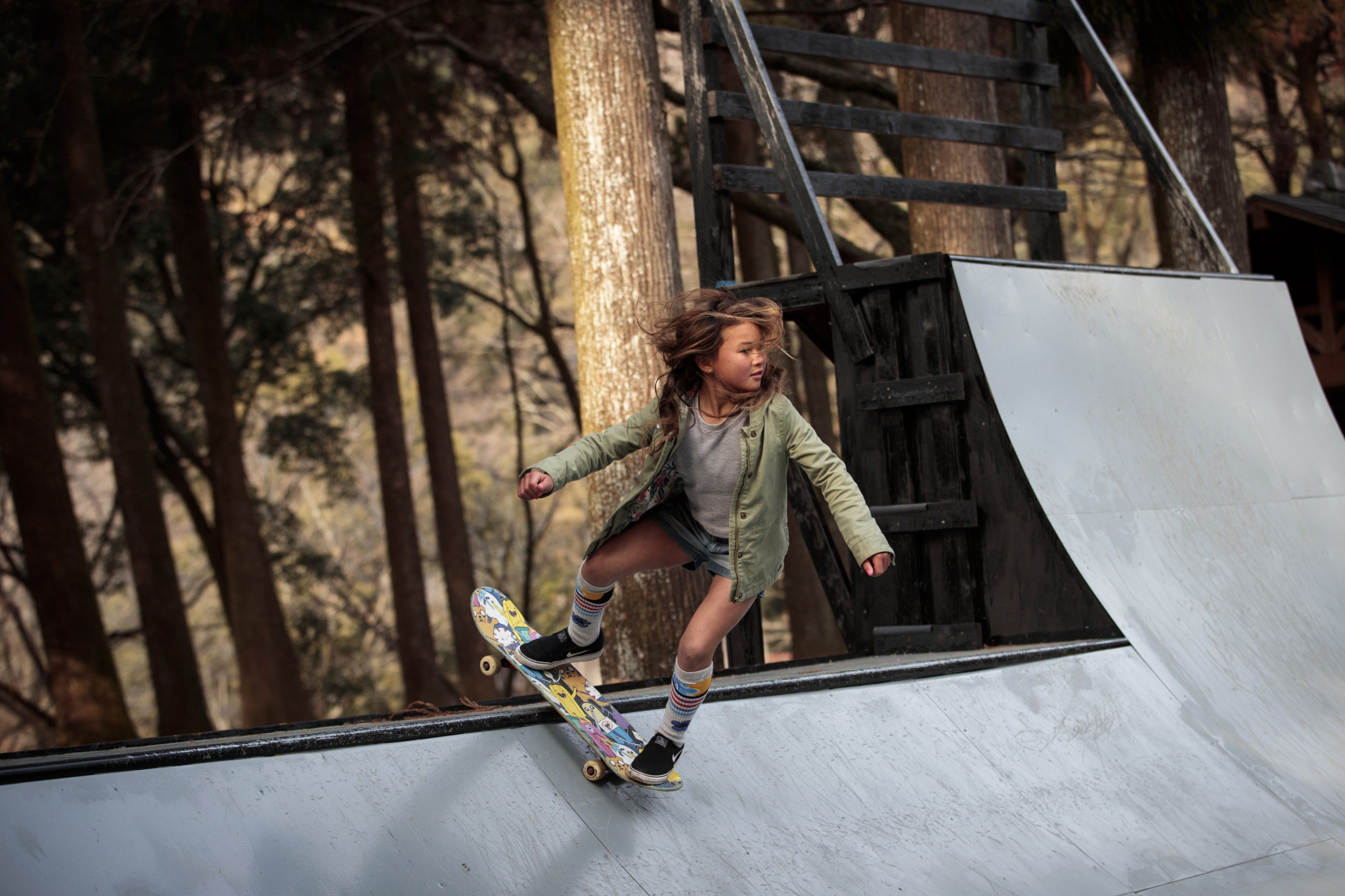 Ten-year-old star Sky Brown is among a team of five skateboarders who will benefit from UK Sport's recent Aspiration Fund award ©Getty Images