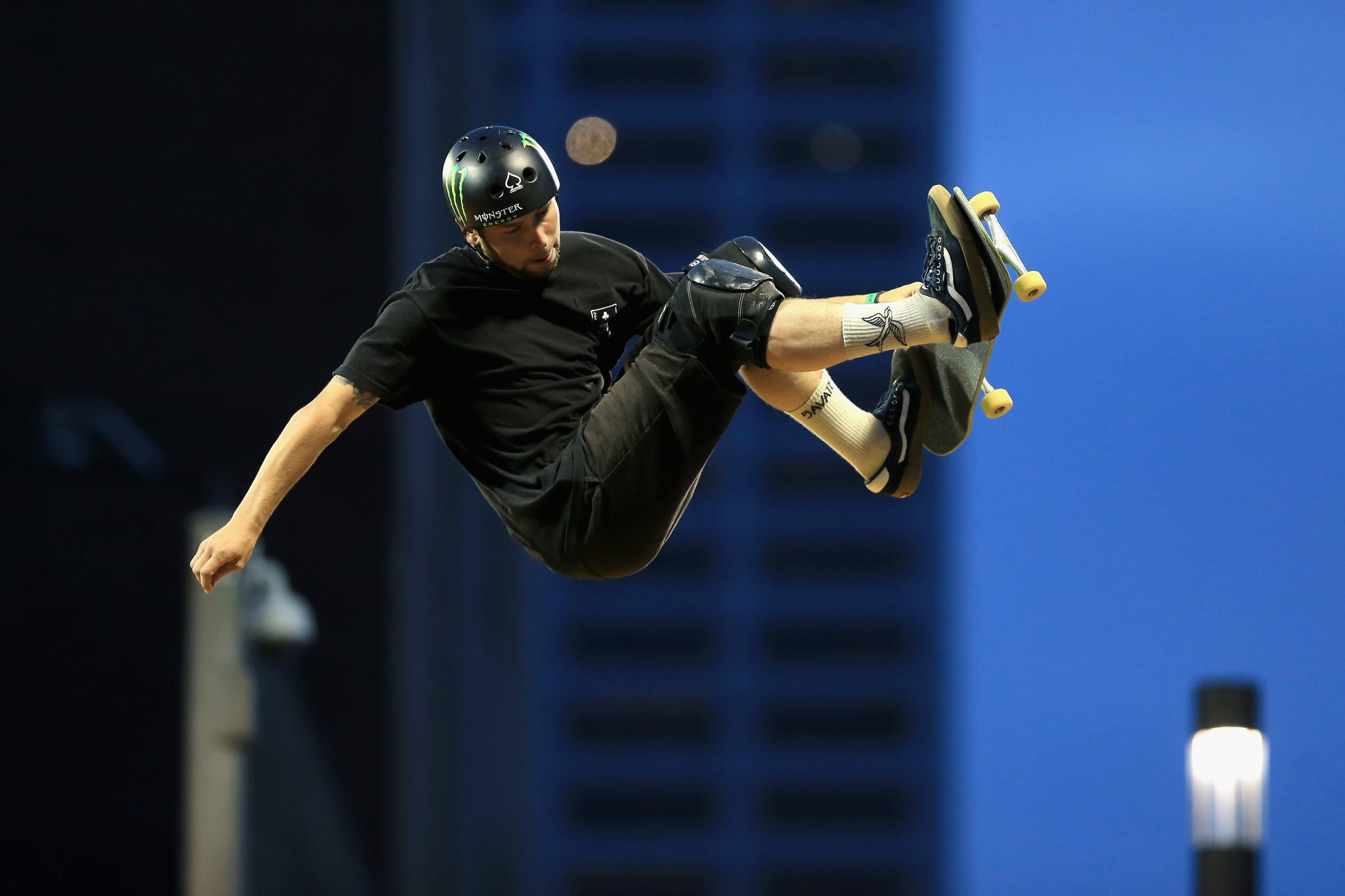 Sam Beckett, the first British skateboarder to win a gold medal at the Summer X Games, has also been named on the team ©Getty Images