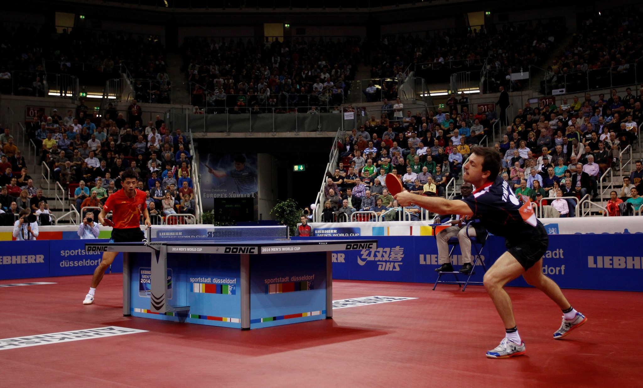 Düsseldorf and Bangkok will host the 2020 ITTF Men's and Women's World Cups ©Getty Images