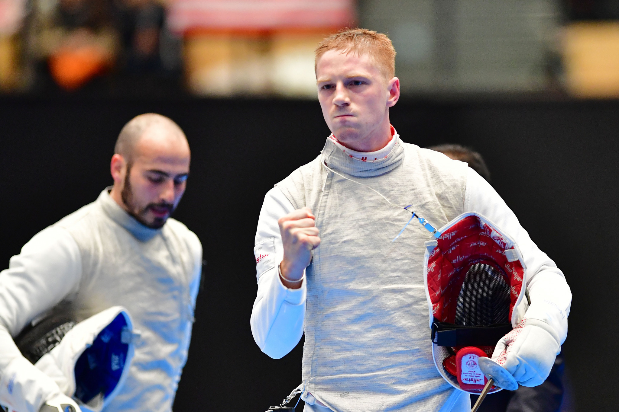 Men's world number one Race Imboden, right, is among those set to compete for the host nation ©Getty Images
