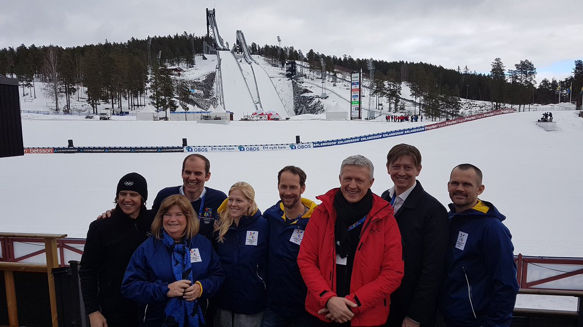 Doubts still remain over whether the Swedish Government will provide the necessary guarantees for Stockholm Åre 2026 even while the IOC Evaluation Commission is visiting facilities ©IOC