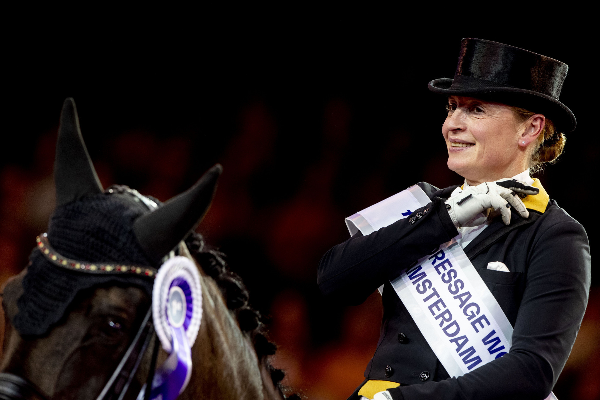 Germany's Werth wins FEI Dressage World Cup Grand Prix at The Dutch Masters