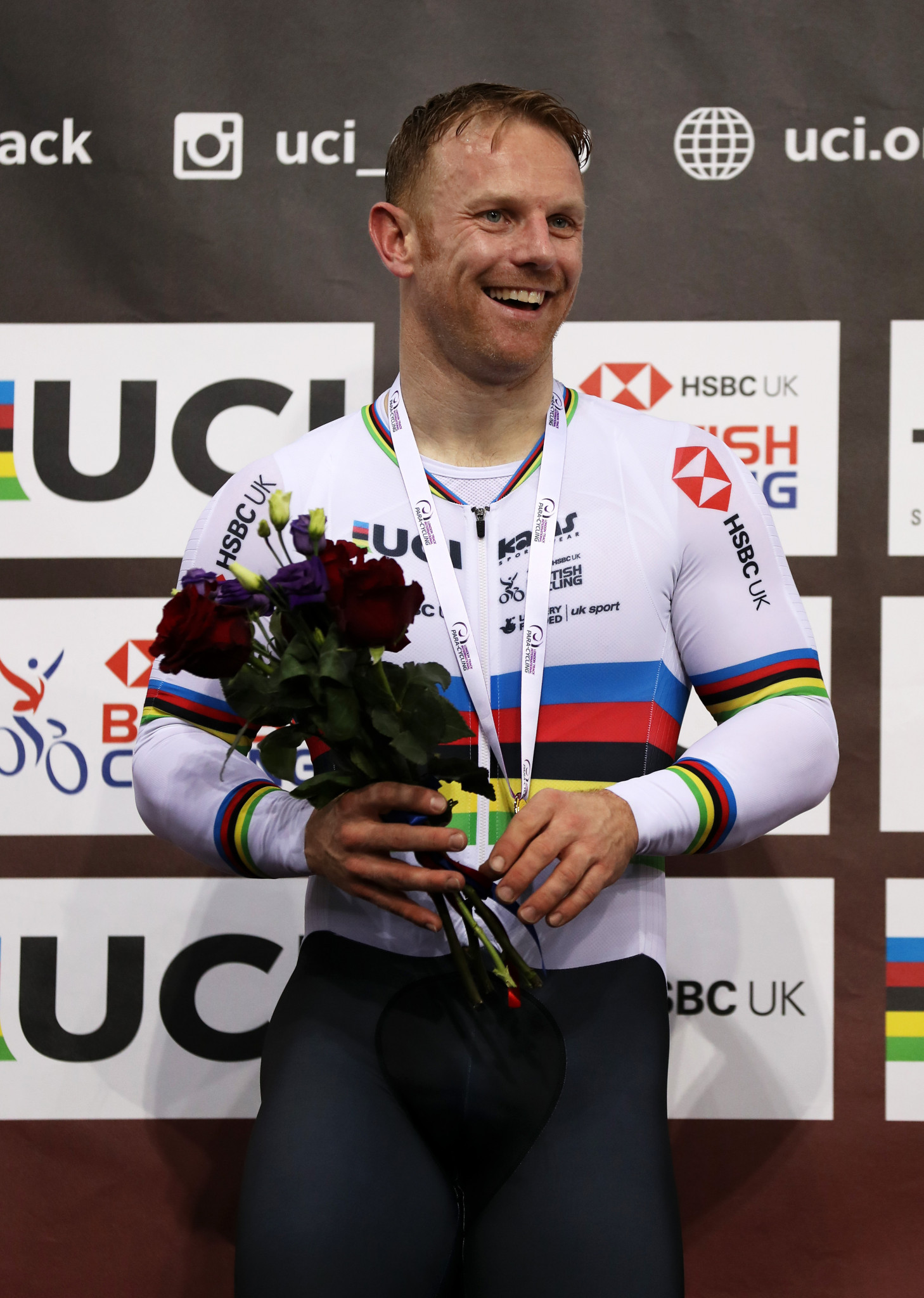 Jody Cundy gained Great Britain's second gold of the day in the men's C4 one kilometre time trial ©Getty Images