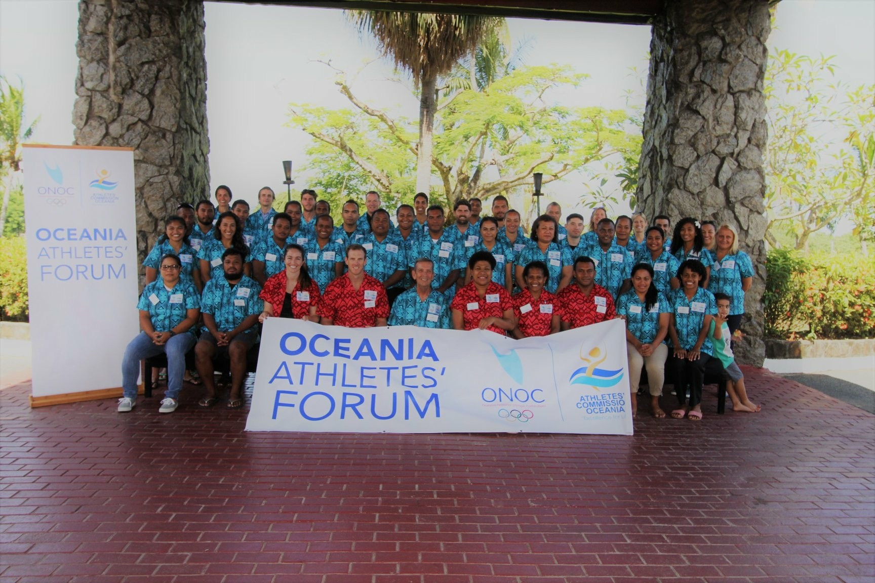 The fourth edition of the ONOC Athletes' Forum was held in Nadi recently ©ONOC
