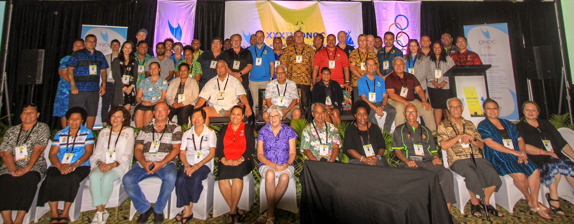 Oceania National Olympic Committees holding best practice symposium leading up to Annual General Assembly