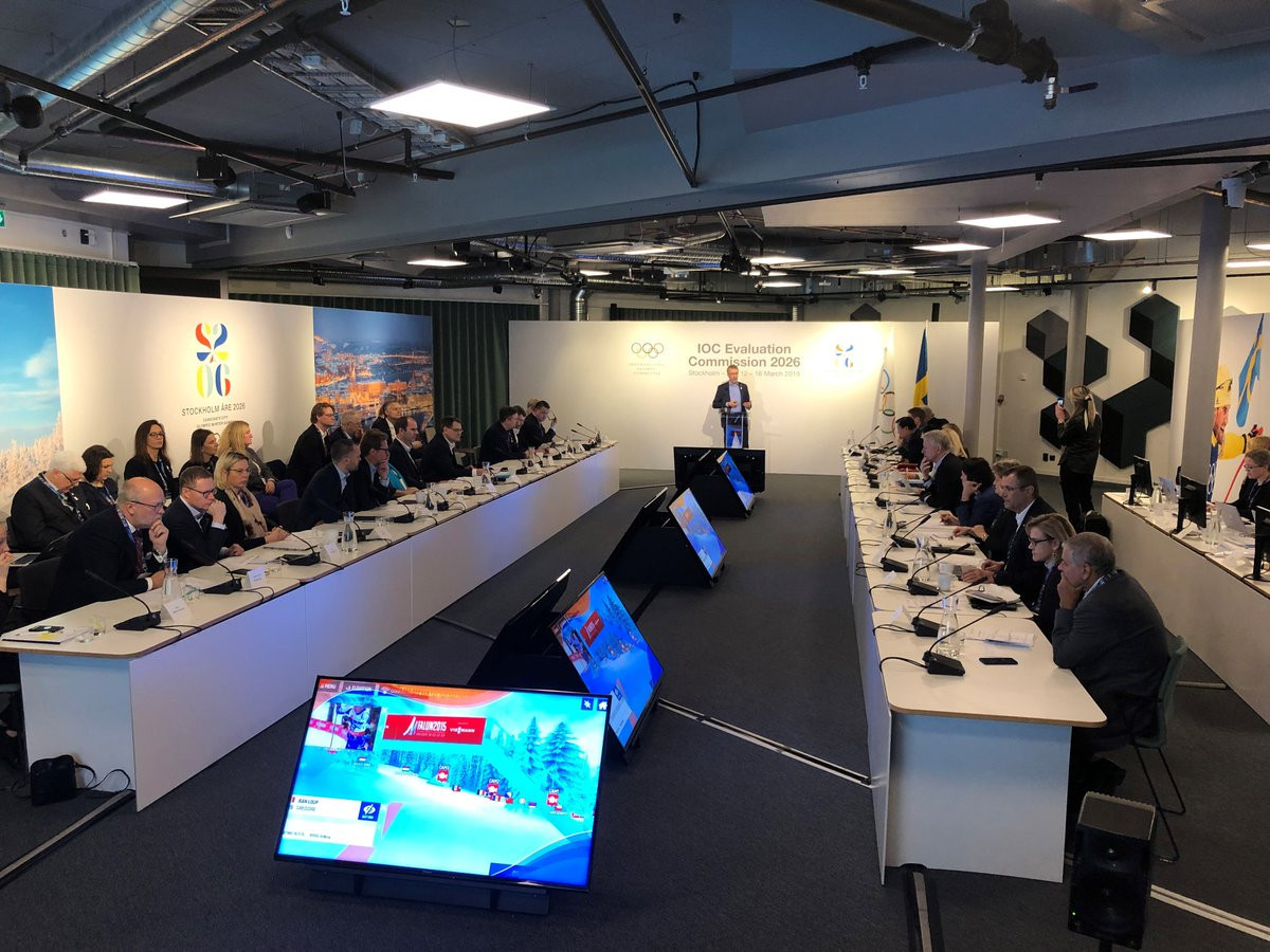 Hosting a sustainable and efficient Winter Olympic and Paralympic Games has been a key message of Stockholm Åre 2026 throughout the visit of the IOC Evaluation Commission to Sweden ©Ericsson